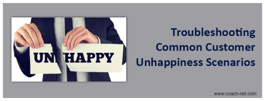 Troubleshooting Customer Unhappiness