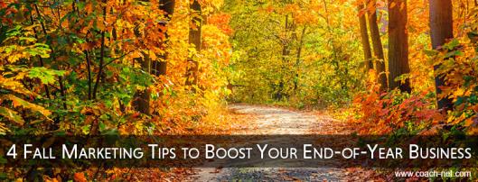 Fall Marketing Tips
