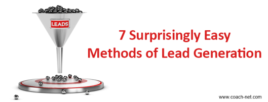 Lead Generation Methods