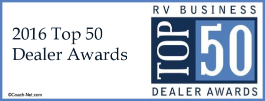 2016 Top 50 Dealer Awards