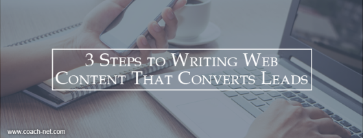 Web Content That Converts Leads