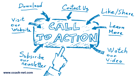 clear call to action
