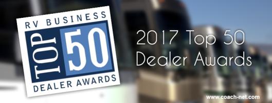 2017 Top 50 Dealer Awards