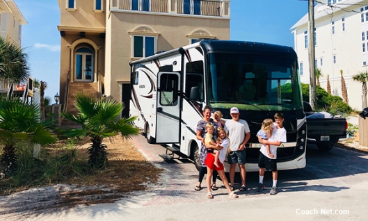 Sales VP with Family On RV Adventure