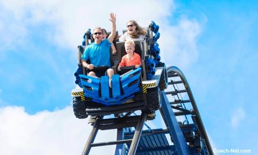 RV Family On Roller Coaster
