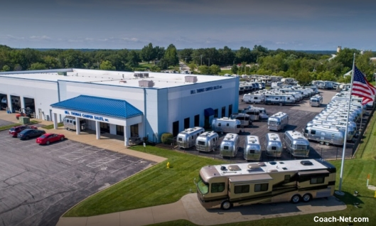 Areal View of Bill Thomas Camper Sales