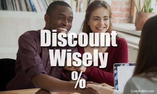Discount Wisely