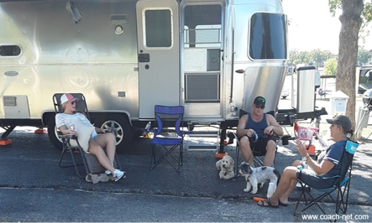 Terry & Friends Around The RV