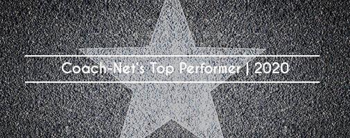 Coach-Net's Top Performer   2020